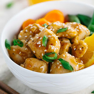 One Pan Chinese Orange Chicken