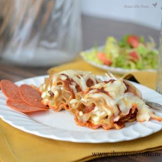 Pepperoni Pizza Lasagna Roll-ups