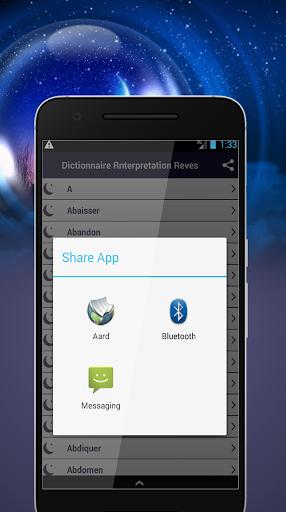 Dictionnaire Des Reves Applications Sur Google Play