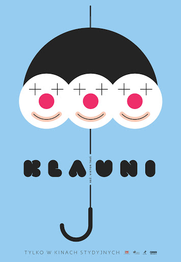 Polski plakat filmu 'Klauni'