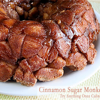 Cinnamon Sugar Monkey Bread