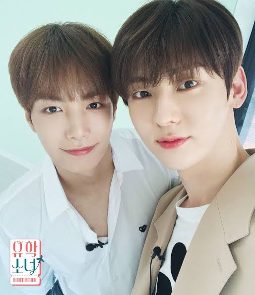minhyun and jr