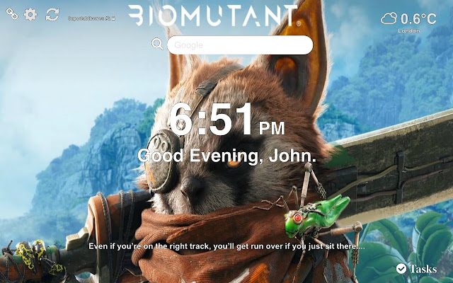 Biomutant Wallpaper 2019 Tab Theme