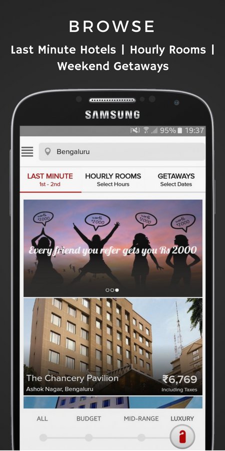 SavvyMob – Last Minute Hotels- screenshot
