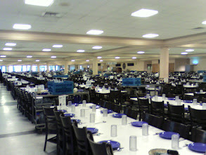 Photo: The Citadel's cafeteria can hold 2000 cadets.