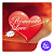 Red heart lovely-APUS Launcher free fashion theme file APK for Gaming PC/PS3/PS4 Smart TV
