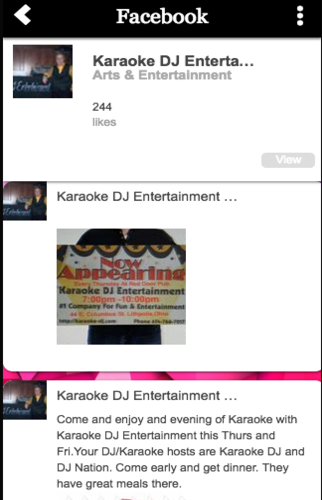 Karaoke DJ Entertainment- screenshot