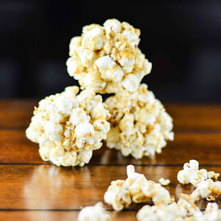 Honey Caramel Popcorn Balls
