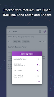 Astro Mail - Intelligent Email & Calendar Screenshot