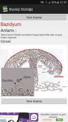 Biyoloji Sözlüğü - screenshot