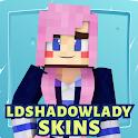 Ldshadowlady Skins for Minecraft icon