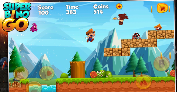 Super Bino Go MOD (Unlimited Coins) 3