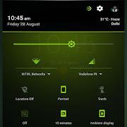 Neon Green Theme CM13