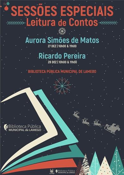 Biblioteca Municipal oferece sessões especiais de leitura neste Natal