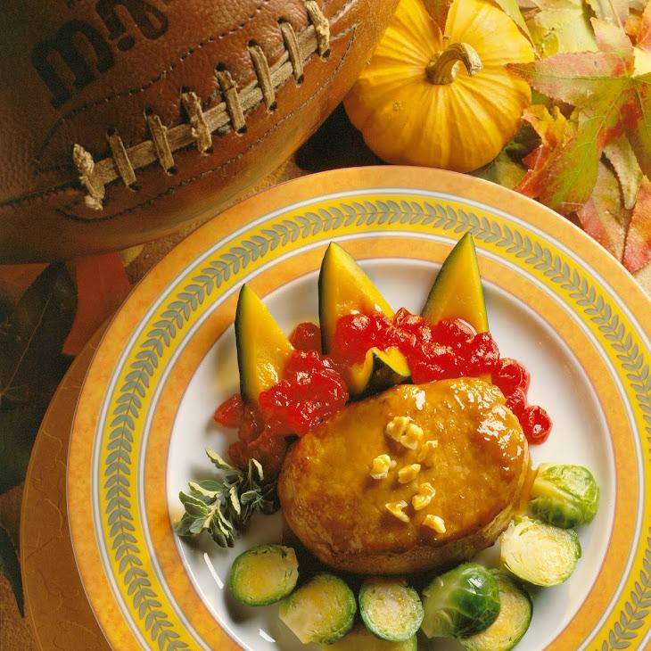 Mustard-Bourbon Pork Chops Recipe
