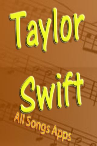 All Songs of Taylor Swift