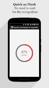 Free Business Card Scanner for SugarCRM- screenshot thumbnail