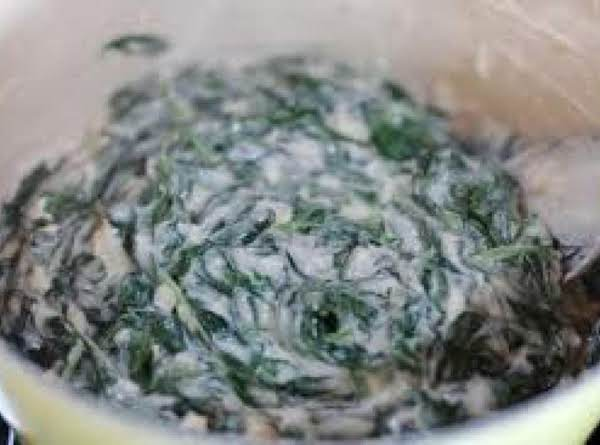 Low Fat Creamed Spinach Recipe