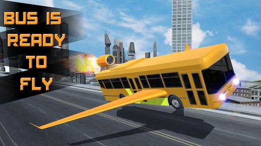 未來的飛行公共汽車賽