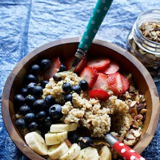 Quinoa Breakfast Bowls.