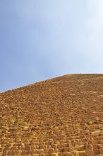 Photo: looking up at The Great Pyramid
