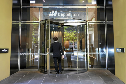 Not so clean: The BHP headquarters in Melbourne, Australia. Among fossil-fuel producers, the company has been one of the highest emitters of industrial greenhouse gases since 1988. Picture: BLOOMBERG