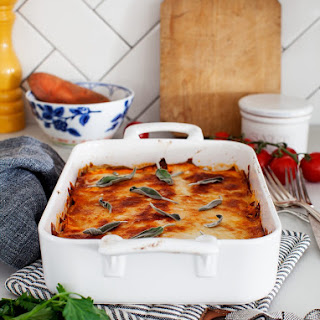 No-Noodle Sweet Potato Sage Lasagna Recipe