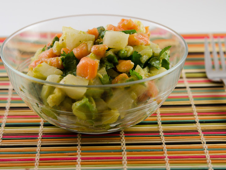 salad papaya and avocado crab salad recipe yummly papaya avocado salad ...