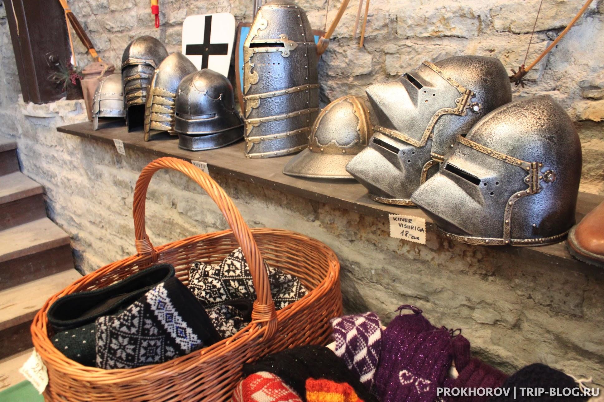 Сувениры в замок в Раквере