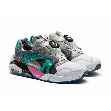 Puma Disc x GraphersRock White