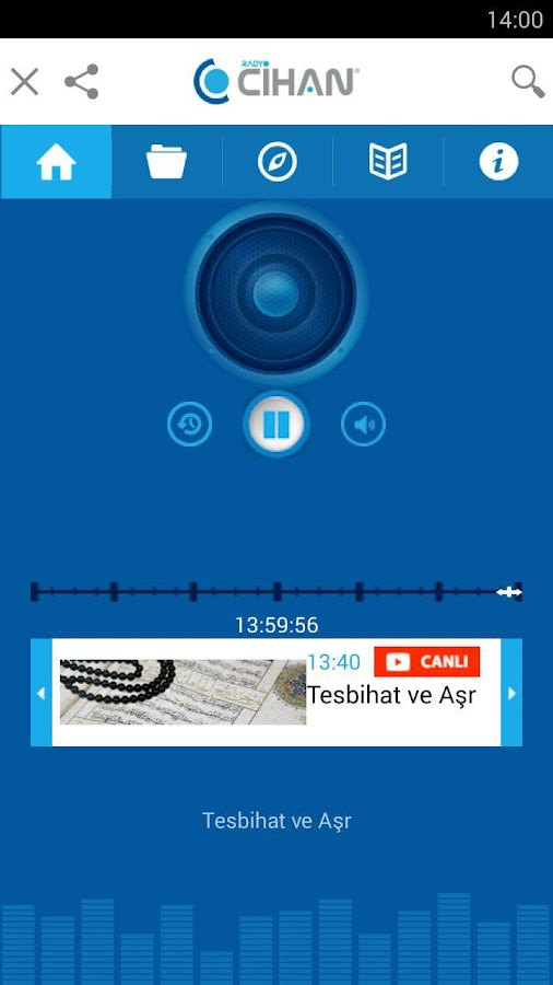 Radyo Cihan- screenshot