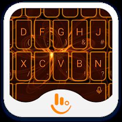 Orange Light Keyboard Theme