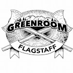 Logo for Super Happy Funtime Burlesque at Flagstaff's Green Room
