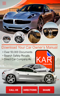 Kar Owner's Manuals- screenshot thumbnail