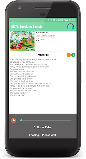 IELTS SPEAKING SAMPLE 2.0.7 screenshots 7