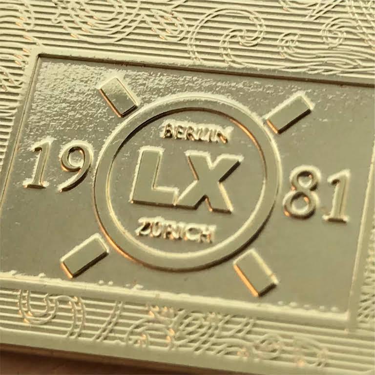 Metall Visitenkarten Lx Lx Druckmanufaktur Druckerei In
