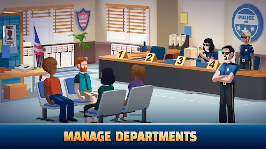 Idle Police Tycoon MOD (Free Shopping) 2