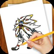 Learn to Draw Pokemon Sun Moon