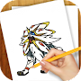 Learn to Draw Pokemon Sun Moon APK icon