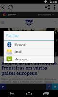 Screenshot of TSF - Rádio Notícias