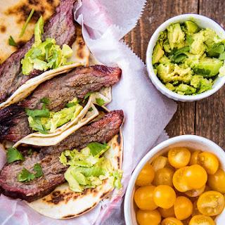 Smoked Brisket Tacos.