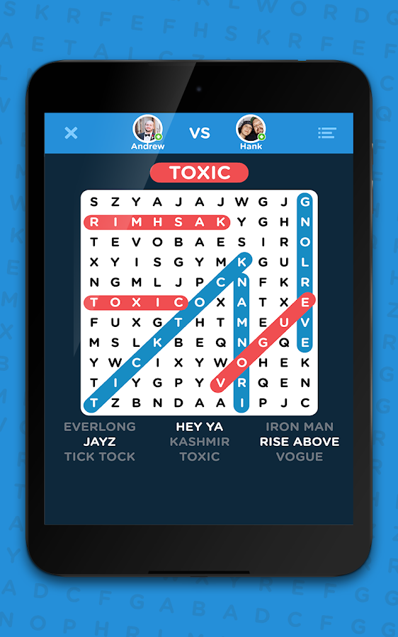 Infinite Word Search Puzzles- screenshot