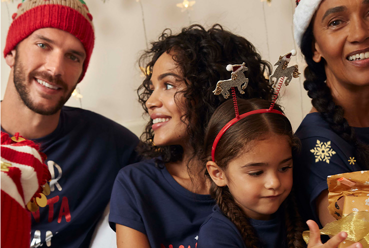 Find a Christmas outfit the whole family will love