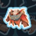 炎の羽の衣装