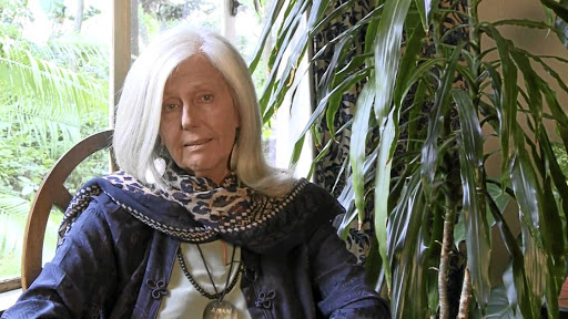 Struck by the beauty: Author Kuki Gallmann arrived in Kenya in 1972 but is now in hospital after being shot in the stomach by raiders. Picture: SUPPLIED