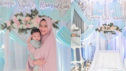 9 Potret Akikah Baby Syaki Anak Nadya Mustika, Penuh Kebahagiaan Meski Tanpa Rizki DA - KapanLagi.com