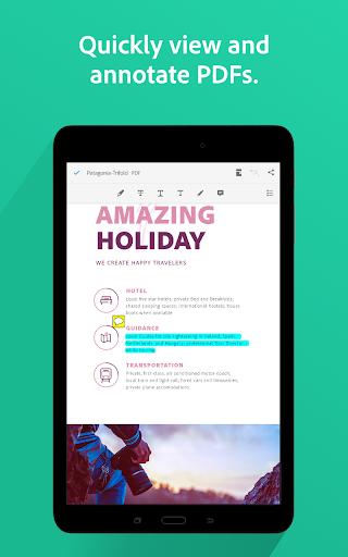 Adobe Acrobat Reader: PDF Viewer, Editor & Creator screenshot 18
