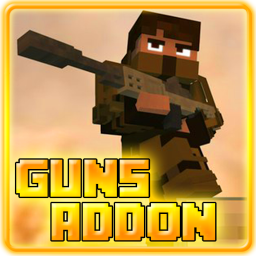 Guns Addon for MCPE 0.16+ Free for PC