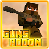 Guns Addon for MCPE 0.16+ Free