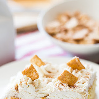 Cinnamon Milk and Cereal Cake
